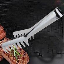 Полезные щипцы для спагетти щипцы для пасты из нержавеющей стали Ручка салат кухонная утварь лапша зажим ручка для приготовления пищи столовые приборы для пасты