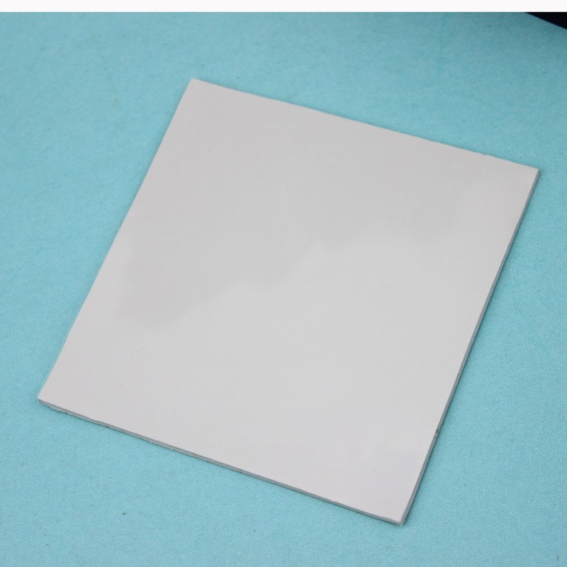 Gdstime 1 pc High Quality 100x100mm Laptop IC Cooling Silicone Pad 1.5mm Thermal Silicone Pad for CPU GPU Heatsink white Soft synthetic graphite cooling film paste 300mm 300mm 0 025mm high thermal conductivity heat sink flat cpu phone led memory router