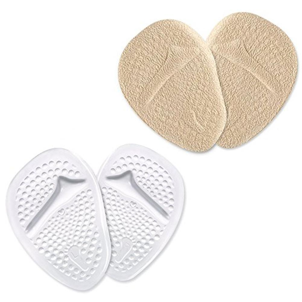 BellyLady 4 Pcs Shoe Pads Inserts Gel Forefoot Insoles for Women High Heels Sandals Relieve Pain