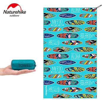 Ręcznik plażowy Naturehike szybkoschnący ręcznik kąpielowy ręcznik z mikrofibry szybkoschnący ręcznik kempingowy ręcznik podróżny siłownia ręcznik basenowy tanie i dobre opinie Quick-dry Drukowane Tkanina z mikrofibry Naturehike Beach Towels L-100 g (0 2 Lbs) M-50g (0 1 Lbs) L-128x75 cm M-75x40 cm