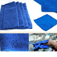 10 Pcs Microfiber Car Cleaning Cloth Wash Towel Products Dust Tools