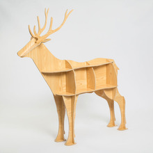 European Hotel Bar Theme Restaurant Designer Novelty Creative Home Products DEER Creative Table Scandinavian Style Decoration