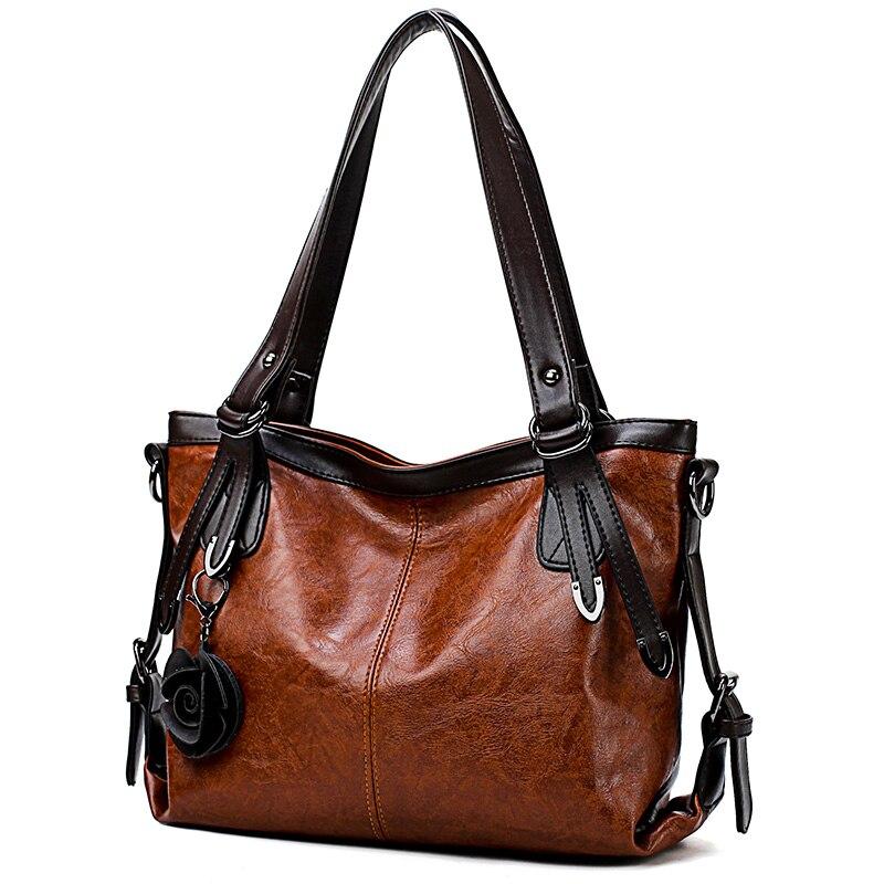 2018 Специальное предложение Винтаж качество кожа плеча Повседневная сумка женский вместительные сумки для женщин Crossbody дизайнер леди ручка сумка купить на AliExpress