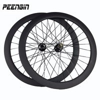 Inventory Cleanrance Super Strong 700C Carbon Disc Brake Wheel 50mm Tubular 23 25mm Wide Cycling Wheels