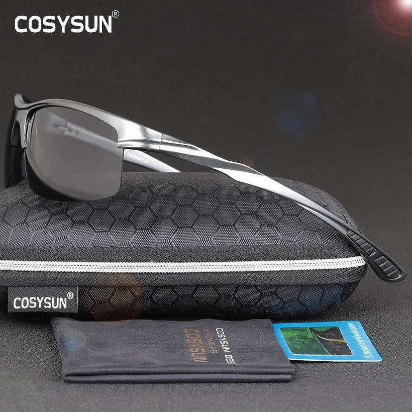 c6feca08197 Best buy COSYSUN Brand Aluminum Polarized Sunglasses Men Sports Sun Glasses  Driving Glasses Mirror Goggle Eyewear oculos de sol CS0213 online cheap