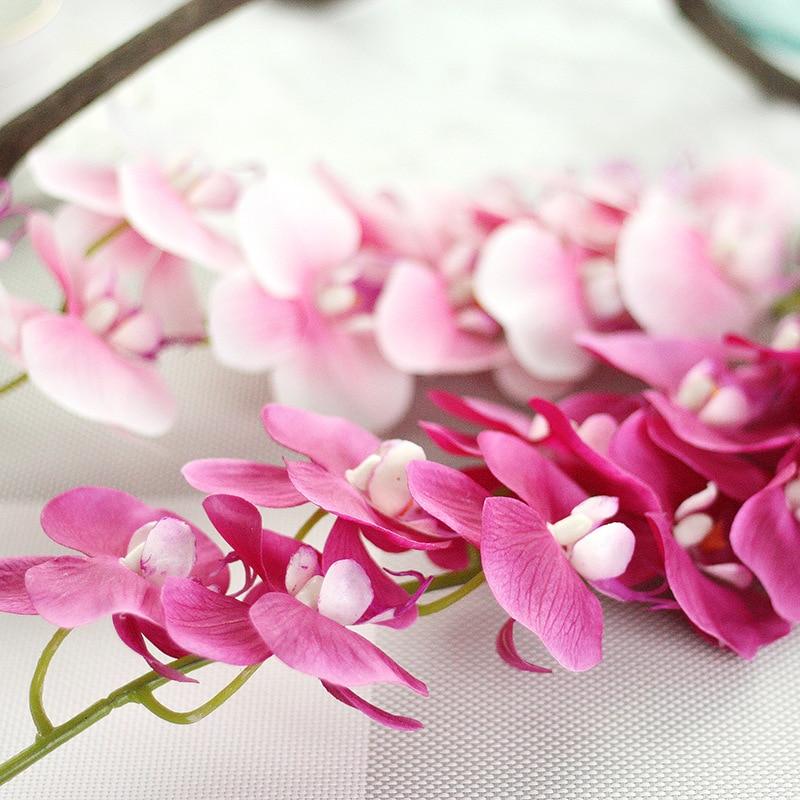 Big phalaenopsis feels over glue wedding artificial flower simulation flower european-style home decoration simulation plant