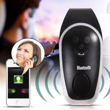 Wireless Mini Car Sunvisor Bluetooth Handsfree Speakerphone Car Kit with Charger Speaker Bluetooth Receiver