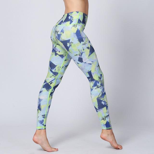 Pantalones de yoga señoras deporte Leggings Pantalones de correr mujer ropa  deportiva para fitness jogging Fitness a0fc90929e01