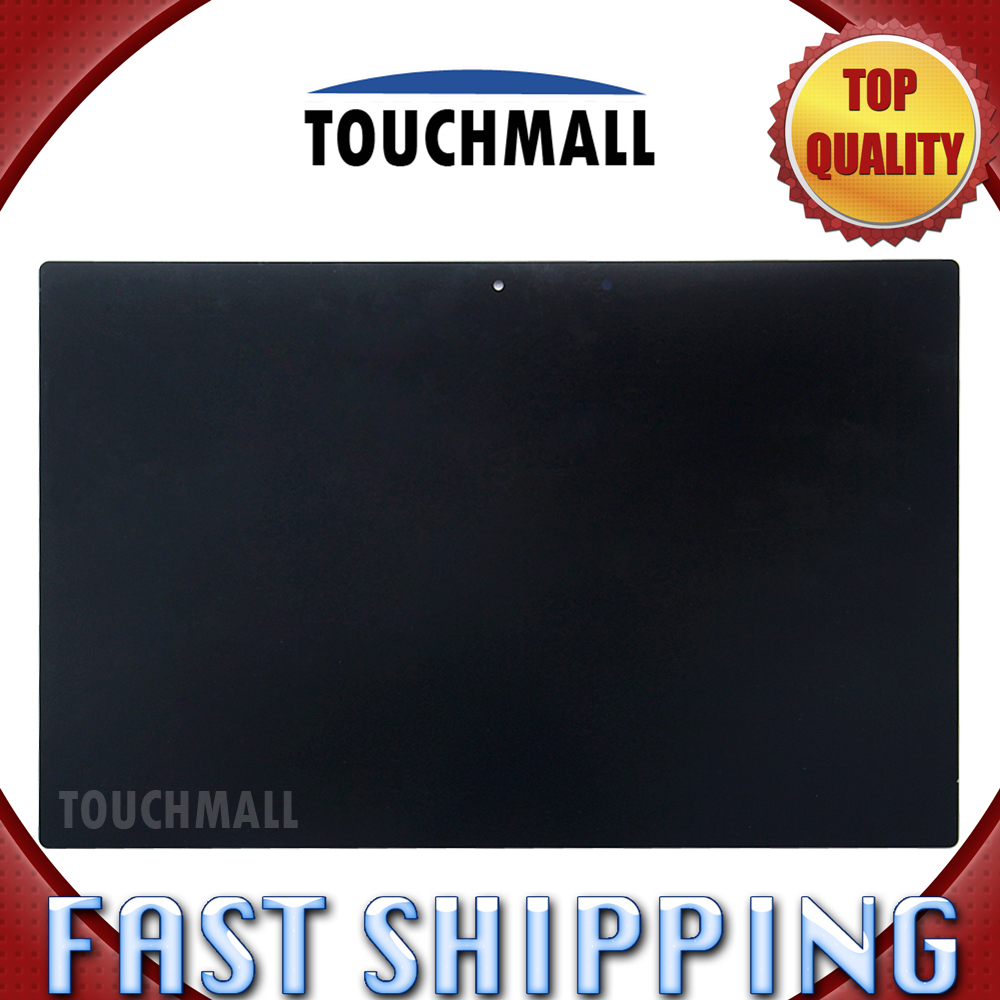 For New LCD Display Touch Screen Assembly Replacement Sony Xperia Tablet Z2 SGP511 SGP512 SGP521 SGP541 Black Free Shipping for sony xperia m c1904 c1905 lcd display with touch screen digitizer frame assembly by free shipping
