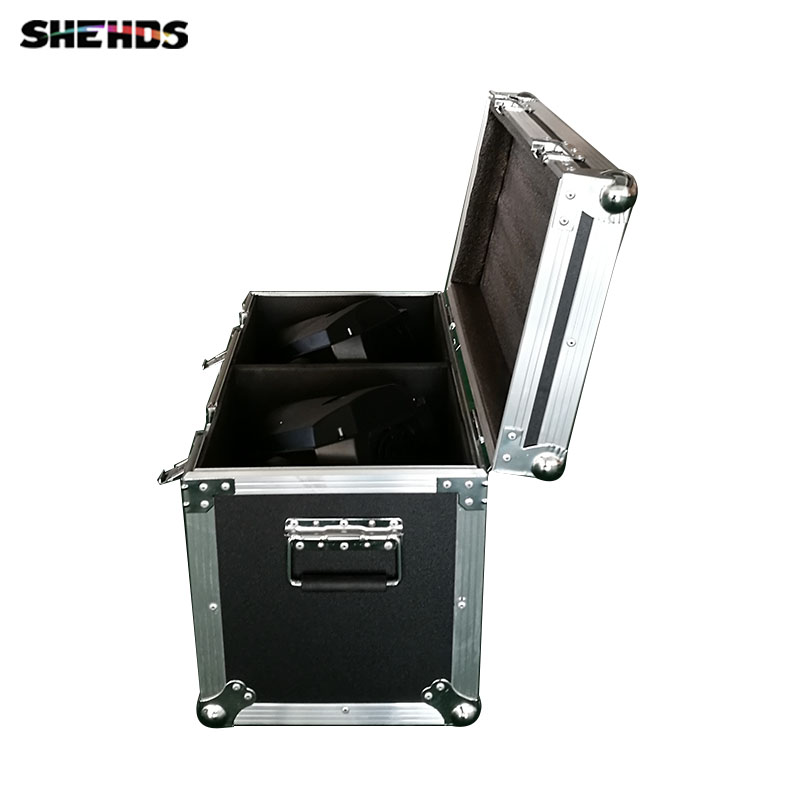 FlightCase With 2pcs LED Spot 90W 6 Prism DMX512 16 Channels Stage Effect Lighting For DJ Disco Party Nightclub Dance Floor BarFlightCase With 2pcs LED Spot 90W 6 Prism DMX512 16 Channels Stage Effect Lighting For DJ Disco Party Nightclub Dance Floor Bar