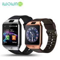 IWOWNfit Smart Watches Passometer DZ09 Bluetooth Watch Smart DZ09 Battery All Compatible Fashion SIM Card