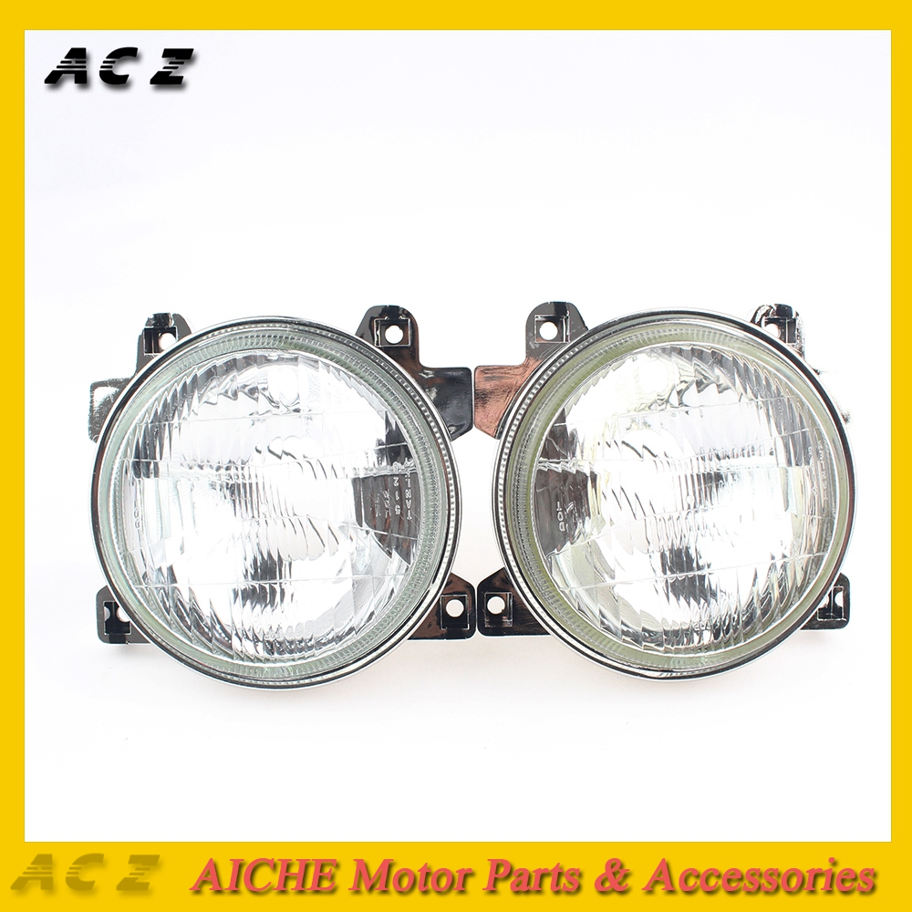 ACZ Motorcycle Light Headlights Headlamps Head Lights Lamps(No Bulb)For Honda CBR250 NC19 NC22 CBR400 NC23 NC29 VFR400 NC30