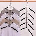 1 шт. 5-слойная вешалка для дома  цельная вешалка для одежды  многофункциональный держатель для подвесного хранения  нескользящая Нескользящ...