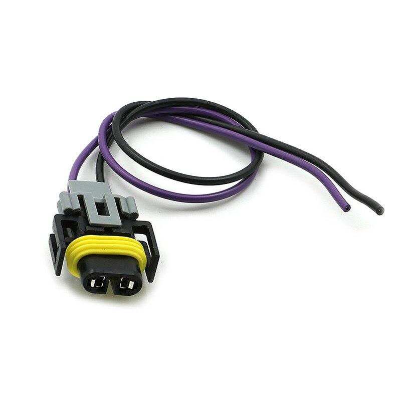 รถ Auto Trans เอาท์พุทเพลาเซ็นเซอร์ความเร็ว VSS Pigtail Harness PT2298 สำหรับ T5 700R4 4L60 4L60E 90-95 GM
