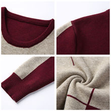 Winter New Arrivals Thick O-Neck Cashmere Wool Warm Sweaters