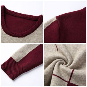 Image 5 - COODRONY 2020 Winter New Arrivals Thick Warm Sweaters O Neck Wool Sweater Men Brand Clothing Knitted Cashmere Pullover Men 66203