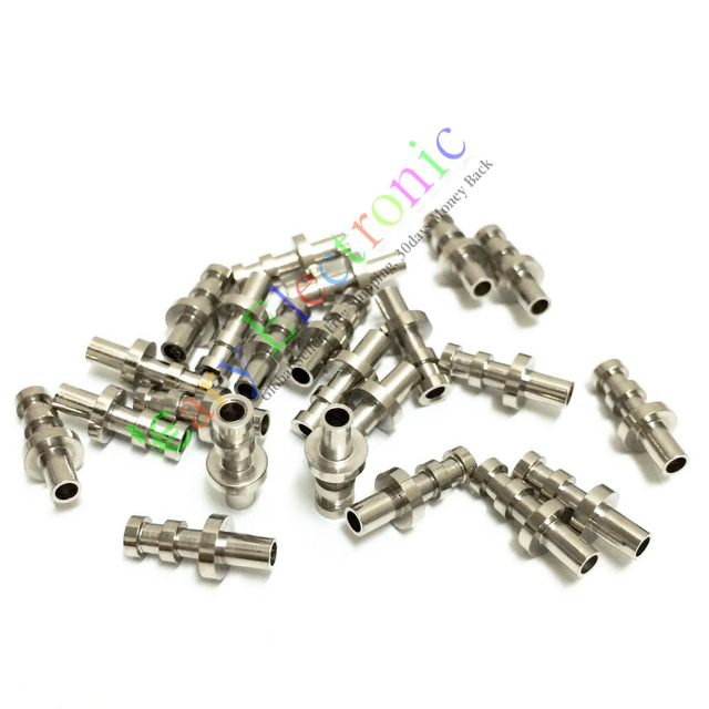 US $22 18 38% OFF|Wholesale and retail 200pc copper plated nickel Turret  Lug for 3MM Fiberglass Terminal Tag Board Amps free shipping on