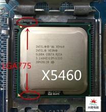 インテルソケット 775 の xeon X5460 x5460 クアッドコア 3.16 ghz の 12 メガバイト 1333 mhz の lga 775 マザーボード上で動作