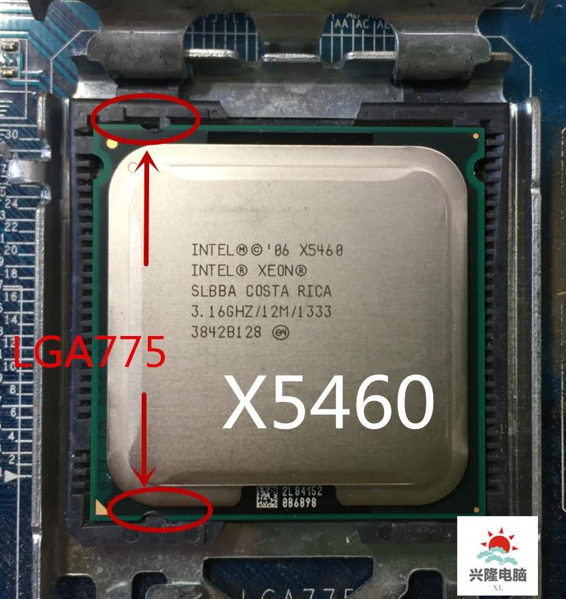 Intel socket 775 Xeon X5460 x5460 Quad Core 3 16GHz 12MB 1333MHz works on LGA 775 Innrech Market.com