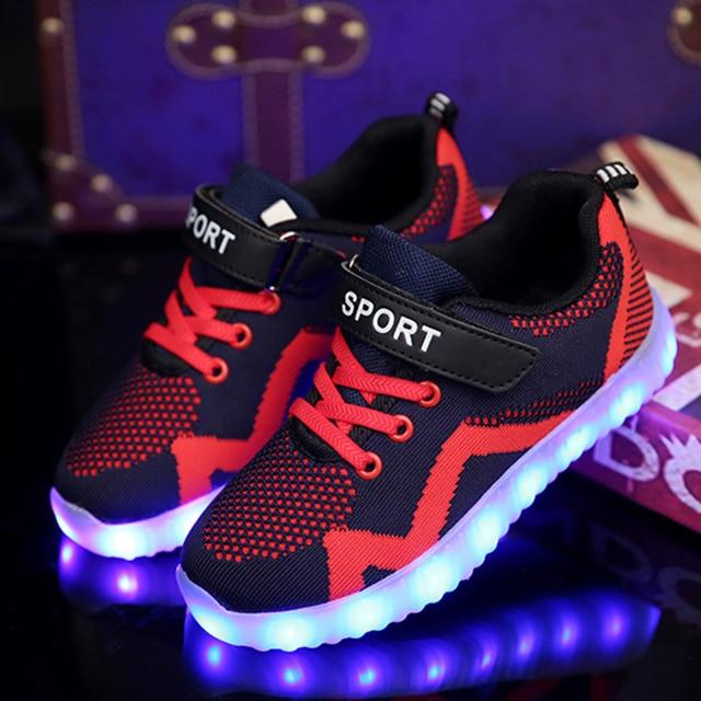 Aliexpress New Children Led Shoes Kids Lighting