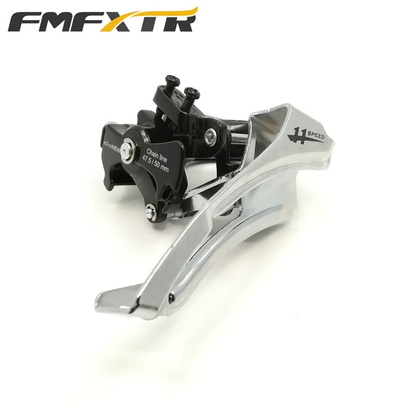 Bicycle Derailleurs Front 3 Speed Shifter <font><b>11</b></font>/33 Speed 24-34-<font><b>42T</b></font> Front Chainring Chain Wheel Up/Down Pull Derailleur Microshift image
