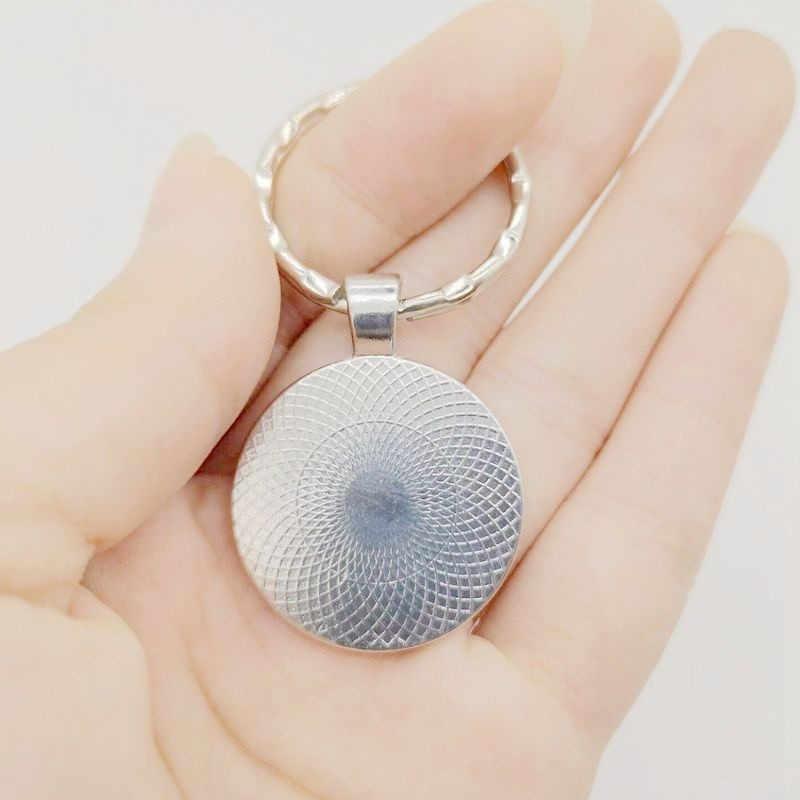 Аниме брелок Дракон мяч фото Стекло брелок с кабошоном «Драконий жемчуг зет подарок для влюбленных модные Аниме подарок для Для мужчин