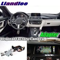 Liandlee Car Reverse Rear Back Up Camera Interface Adapter Decoder Kits For BMW 3 F30 F31 F34 with CAM NBT EVO II System Upgrade