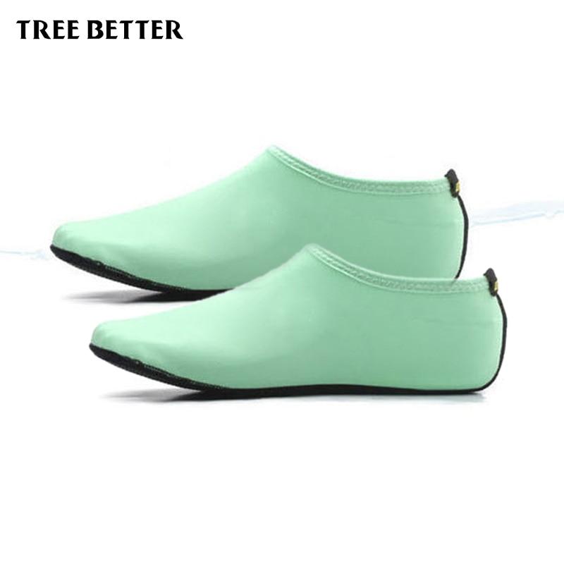 Antypoślizgowe miękkie skarpetki męskie Kobiety Oddychające buty - Sporty wodne - Zdjęcie 4