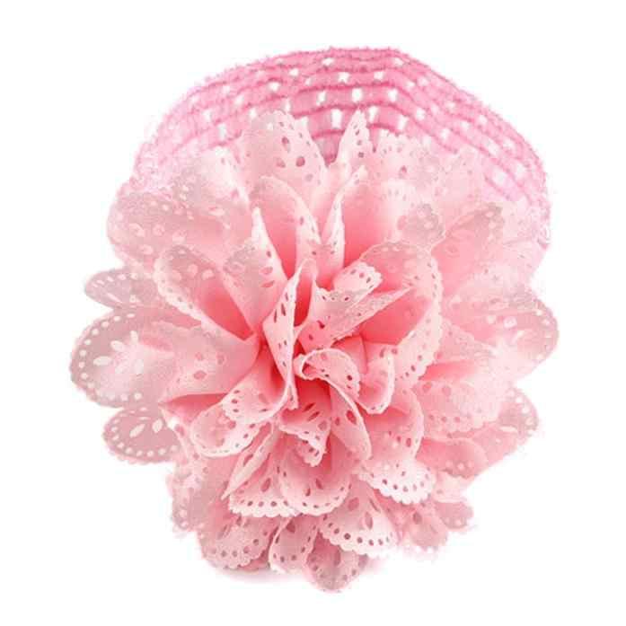 HairBands Floral dla dziewczynek 2019 Hot Selling KLV Kids pałąk dziewczynek kwiat pałąk koronkowa opaska z kokardą opaski na głowę w kwiaty