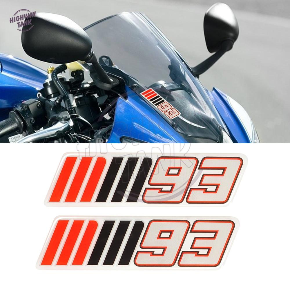 Motorcycle Windshield Decal Sticker Motocross Windscreen mm93 mm 93 Stickers