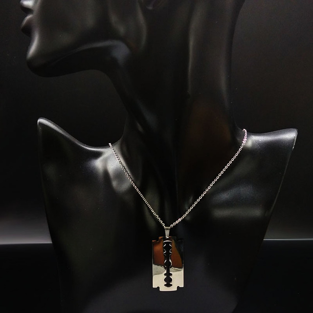Various Stainless Steel Pendant Necklaces