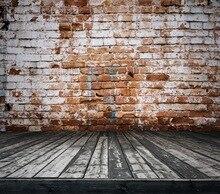 HUAYI papel tijolo piso de madeira Pano de Fundo cenários de fotografia Pano de Fundo adereços Recém-nascidos Fotografia Fundos de papel kp-323