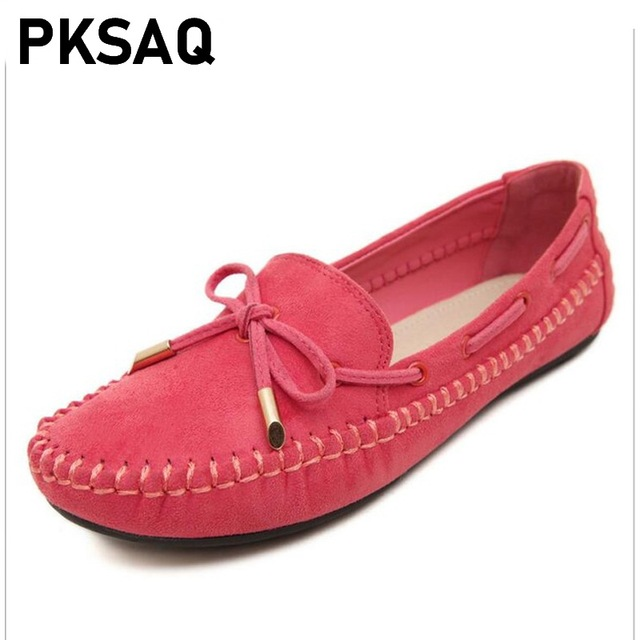 Candy Color Ladies Loafers