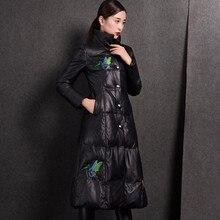 Ptslan 2016 Women s Genuine Leather Jacket Zipper Closure Real Lambskin Coat
