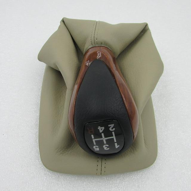 Para BYD F3 F3R tampa protetora contra poeira alavanca de engrenagem de couro base de espessamento da derme pêssego handebol de Inicialização