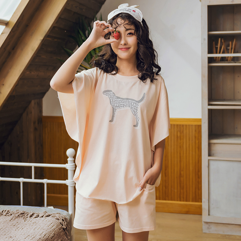 2018 Summer Pijamas Women Japanese Kawaii Cartoon Pajamas Shorts Set Female Cute Sexy Night Suit Cotton Sleepwear Sets