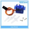 Бесплатная Доставка 1 шт. SG90 9 г Мини Micro Servo для RC для RC 250 450 Вертолет Самолет Автомобилей