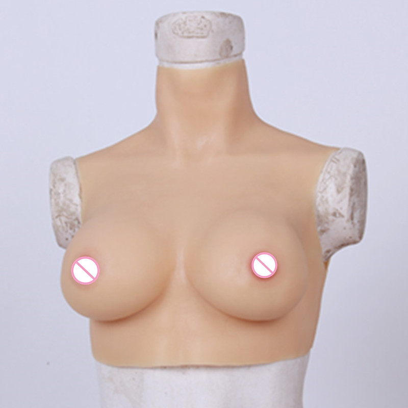 C Cup Fake Boobs Shemale Silicone Breast Transgender Favourite Crossdresser Silicone Breast Forms Realistic Artificial Boobs 1200g dd cup boobs for drag shemale transgender prosthetic breasts cups for dresses silicone fake breast