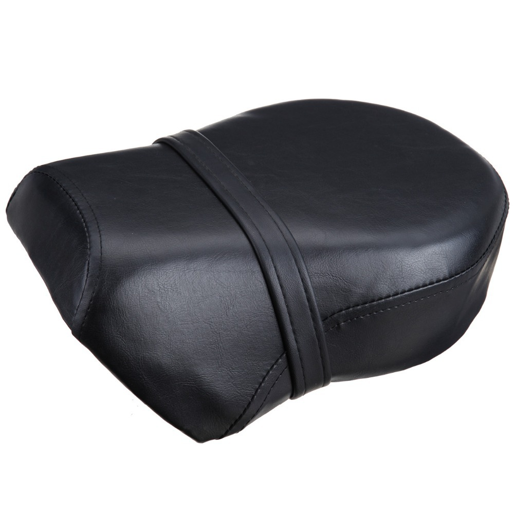 (Ship from EU) Rear Pillion Passenger Seat Cushion For Harley Sportster XL 883XL 883C 883N 1200N 2007-2013 for ktm 390 duke motorcycle leather pillon passenger rear seat black color