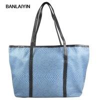 Korean Style Ladies Girl Hobo PU Leather Handbag Shoulder Bag Gift Luxury Design Serpentine Bags