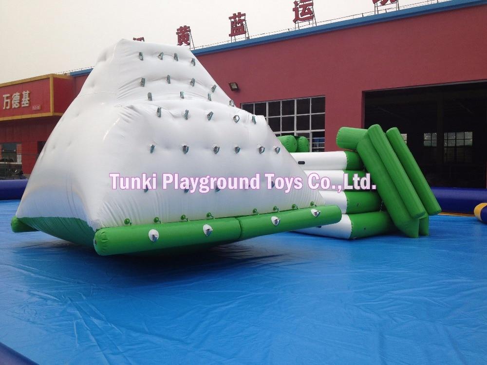4.9m heißer Verkauf aufblasbarer Wasser-Eisberg für Wasserpark-Sportspiele
