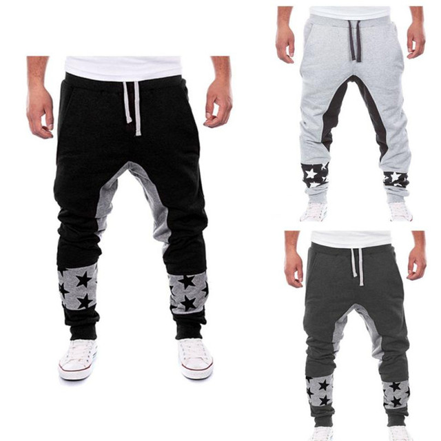 Military Real Sale Durable 2016 Pants For Men Joggers Plus Size Cotton Blended Man's Personalized Letters Printed Design Casual
