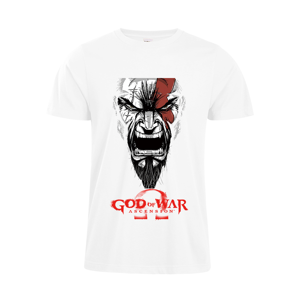 2018 New Fashion Style PS4 Game Sony Game God Of War Son of God T-shirt Teen mixsex T-shirt