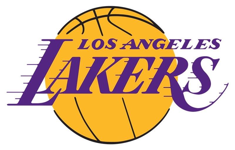 Los Angeles Laker 100D Polyester Digital Printing colorful baskatball Flags Sleeve metal Grommets 90*150 CM sports equipment