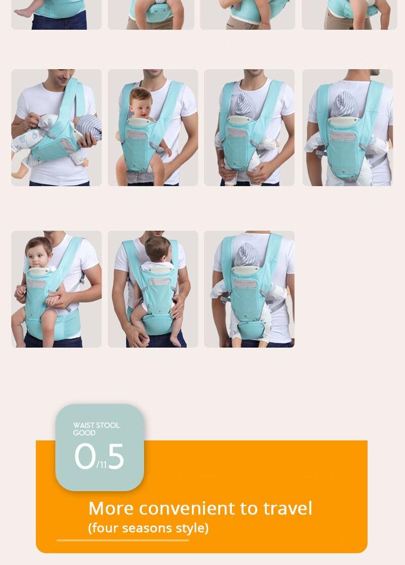 Portador de Bebê Respirável Sling Para Recém-nascidos