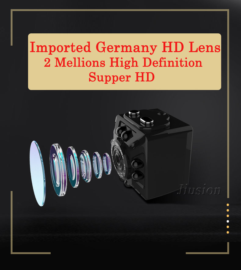 SQ8 Full HD 1080P Mini Camera Cam Micro Night Vision King Motion Detection Espia Digital Secret