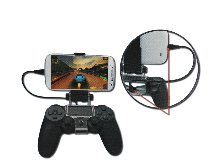 Dealonow Smartphone Game Holder Controller Clip Clamp Holder For Playstation For PS4 Game Controller in Replacement Parts Accessories from Consumer Electronics