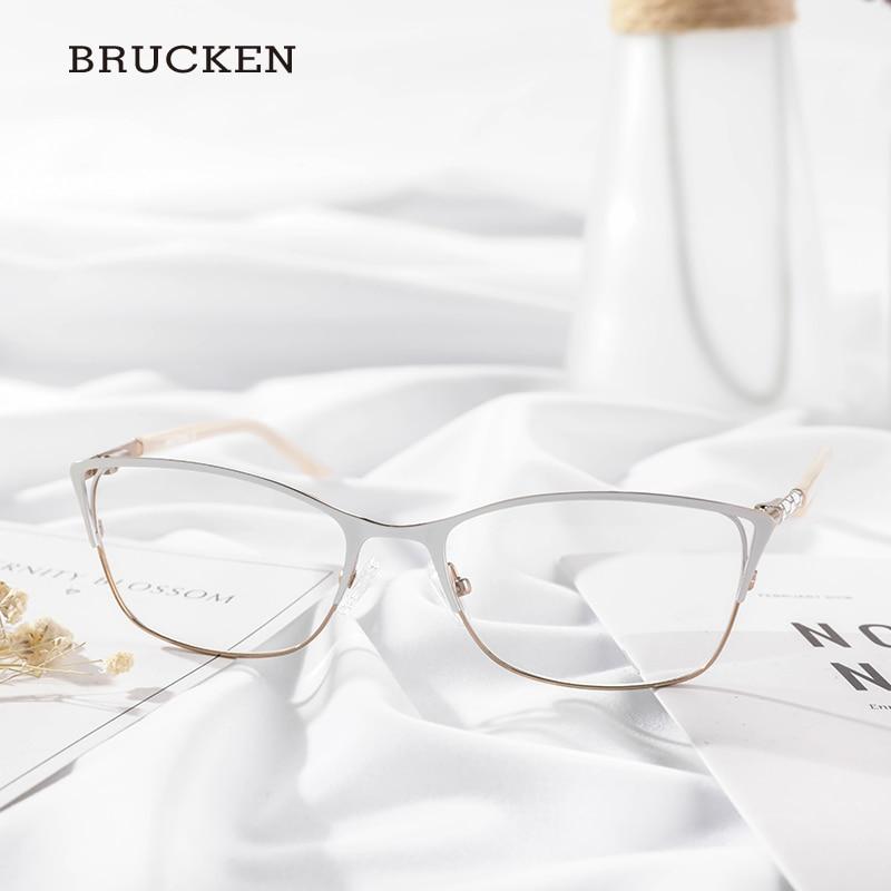 Metal Eyegles Frame Women Optical Gles White Color Cat Eye Twm7554c4 In Eyewear Frames From Arel Accessories On