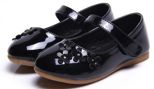 2018 new girl shoes fashion girl bow princess childrens shoes childrens shoes