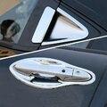 Nueva Manija de Puerta de Coche del Cromo Copa Tazón Ajuste de La Cubierta Para Honda HR-V VEZEL 2014 2015 accesorios de auto Envío libre